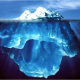 iceberg floating